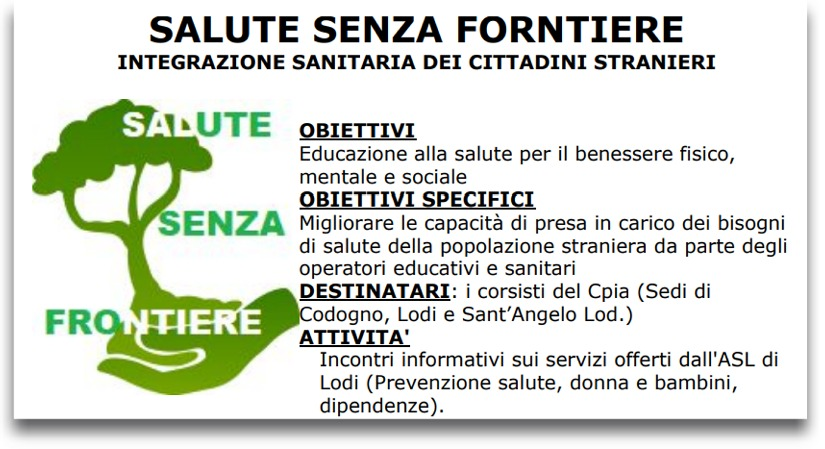 salute senza frontiere