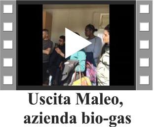 uscita maleo, azienda biogas