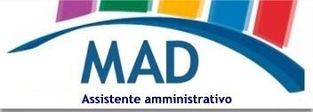 mad, assistente amministrativo